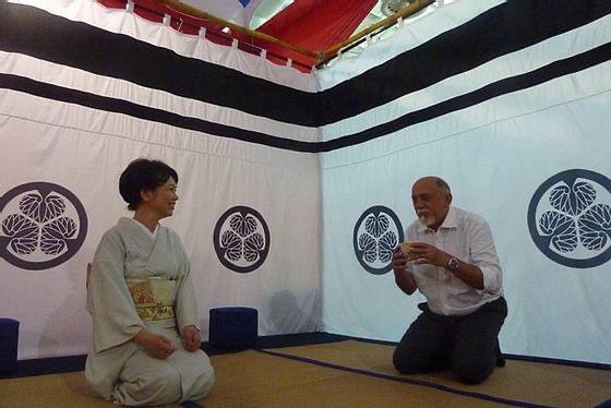 tea ceremony in brazil