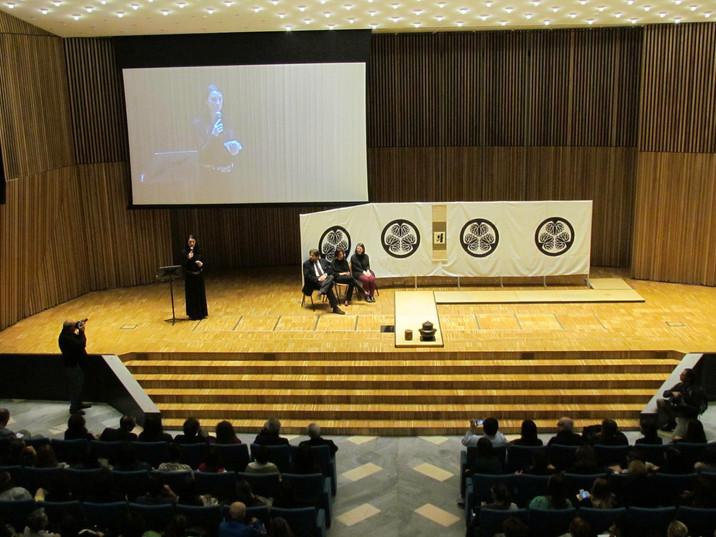 tea ceremony in milano university