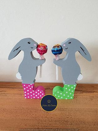 Lollypop Bunny In Wellies