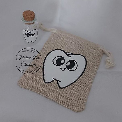 Tooth Fairy Pouch and Bottle