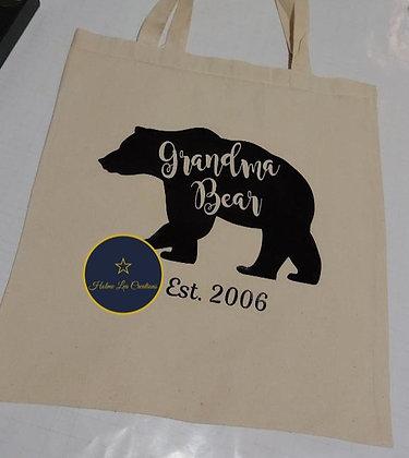 Grandma Bear Est. 2006 Eco Tote Bag