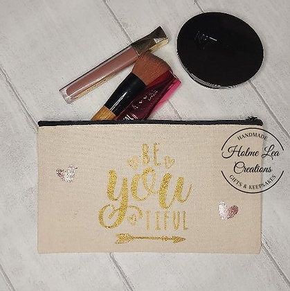 Be~you~tiful Make Up Bag