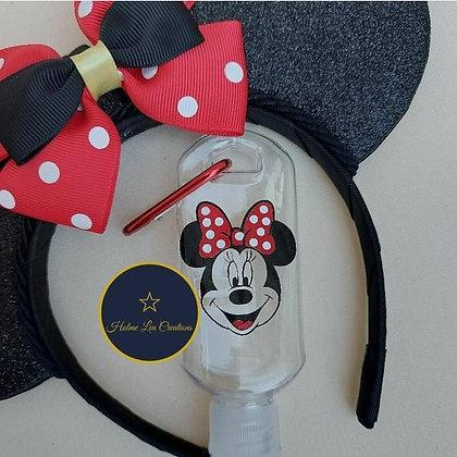 Minnie Personalised Hand Sanitiser Bottle