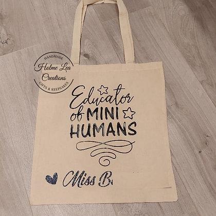 Educator of Mini Humans Eco Bag