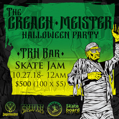 The Creach-Meister Halloween Party
