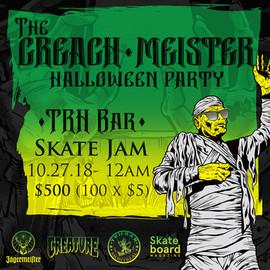 The Creach-Meister Halloween Party
