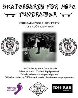 Skateboard for Hope Fundraiser