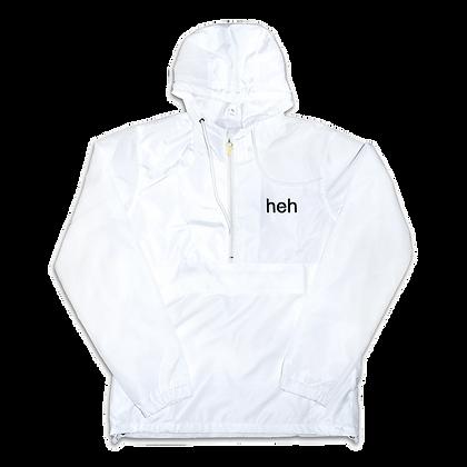 Fanorak Anorak Jacket White - heh
