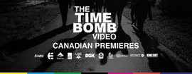 The Time Bomb Video premier at TRH-Bar