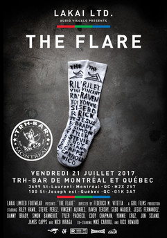 Lakai LTD. The Flare premier at TRH-Bar