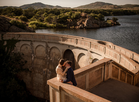 Wichita Mountains Engagement | Brookelyn & Lane