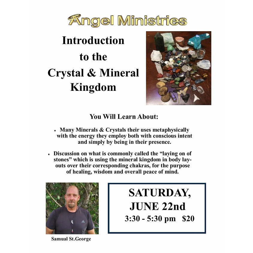 Introduction to the Crystal and Mineral Kingdom