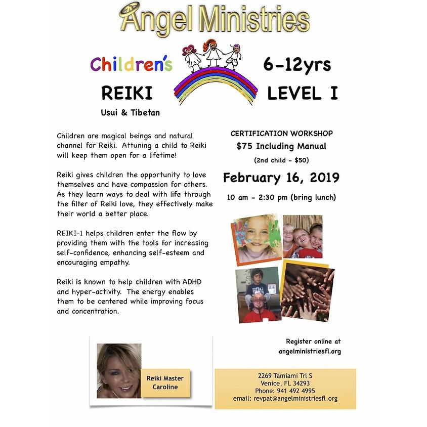 Children's Reiki Certification