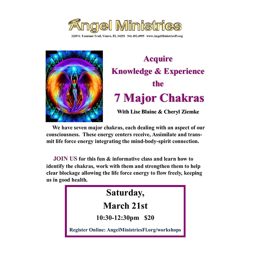 7 Major Chakras