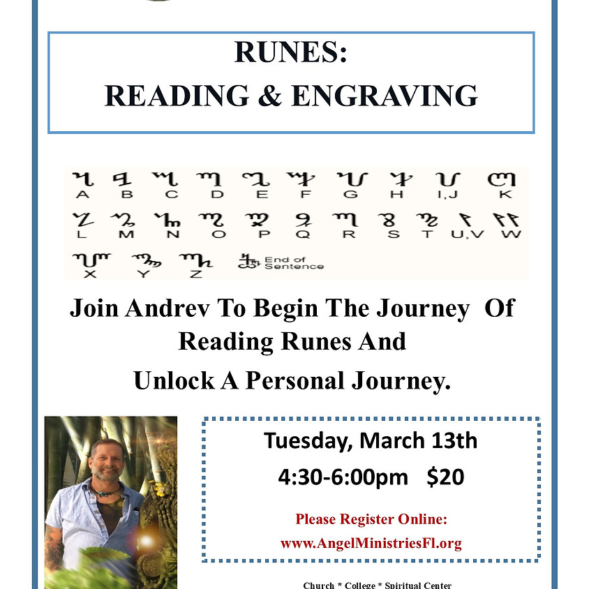 Runes - Reading and Engraving