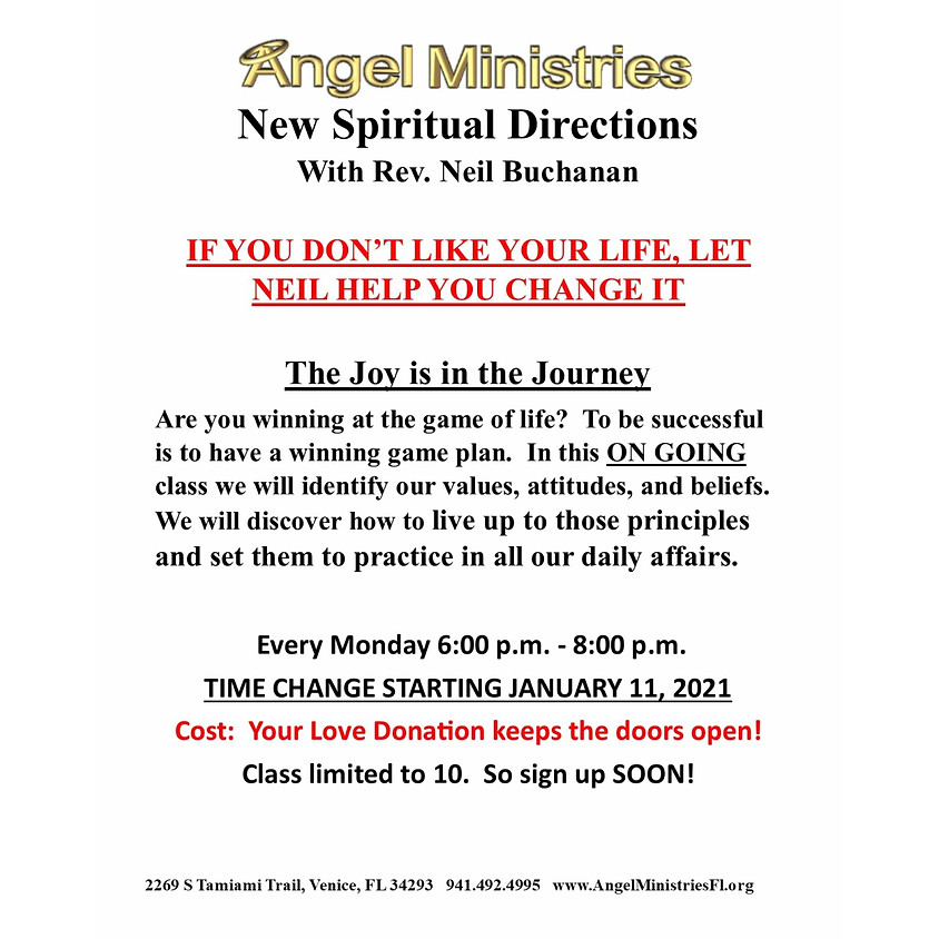 New Spiritual Direction