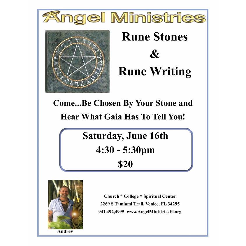 Rune Stones and Rune Writing