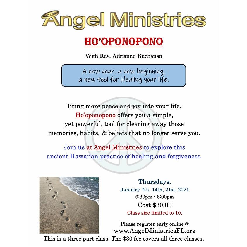 Ho'oponopono - 3 Thursdays in January