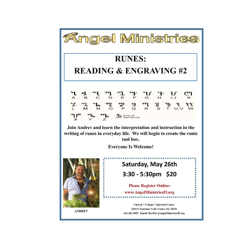 Runes - Reading and Engraving 2