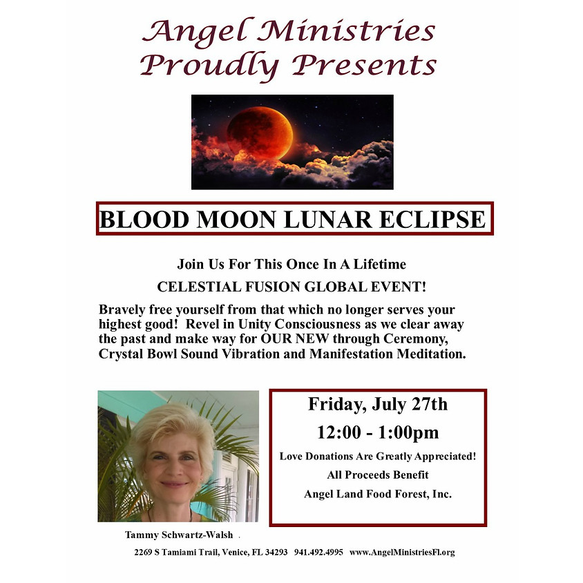 Blood Moon Lunar Eclipse Meditation