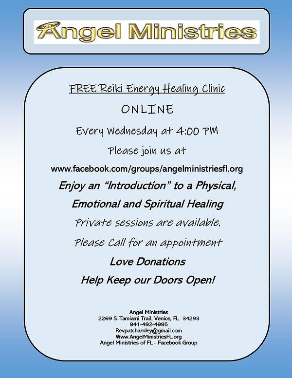 Free Reiki Energy Healing Clinic Online.