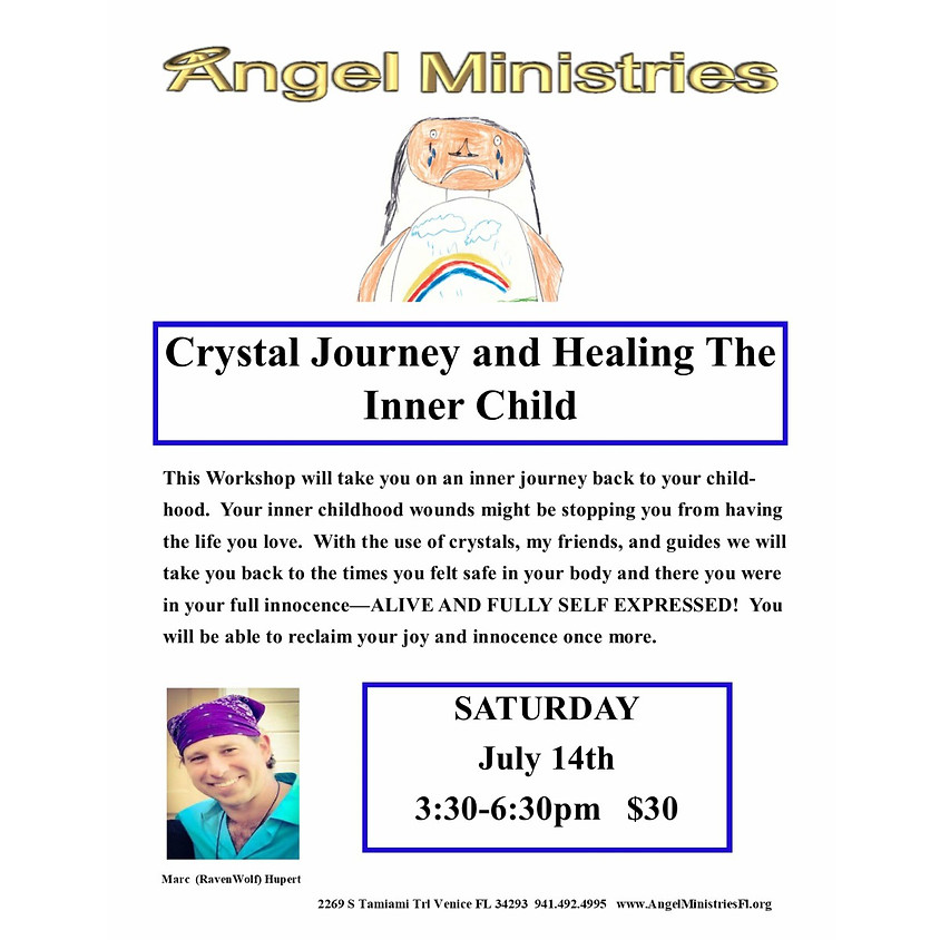 Crystal Journey and Healing Your Inner Child