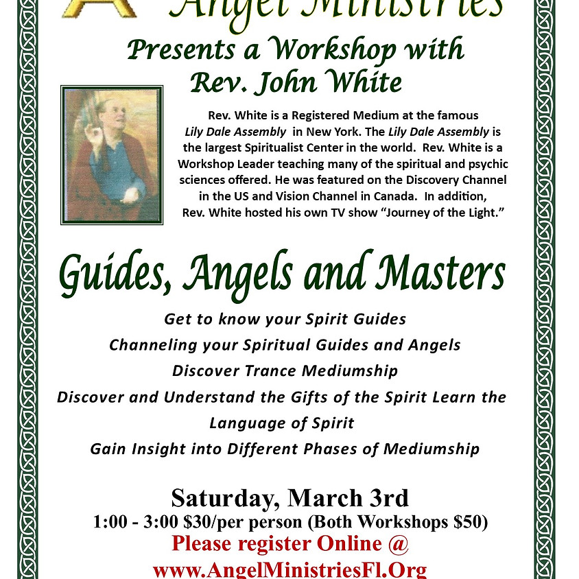 Guides, Angels and Masters