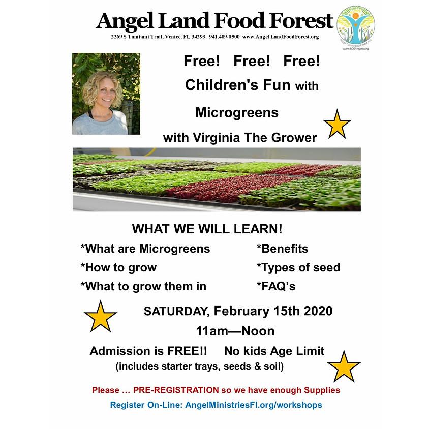 Microgreen for Children