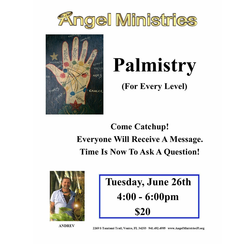 Palmistry All Levels