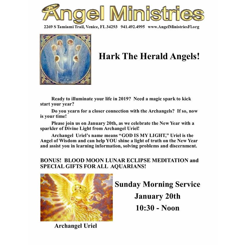 Archagel and Zodiac Alignment Honoring Archangel Uriel