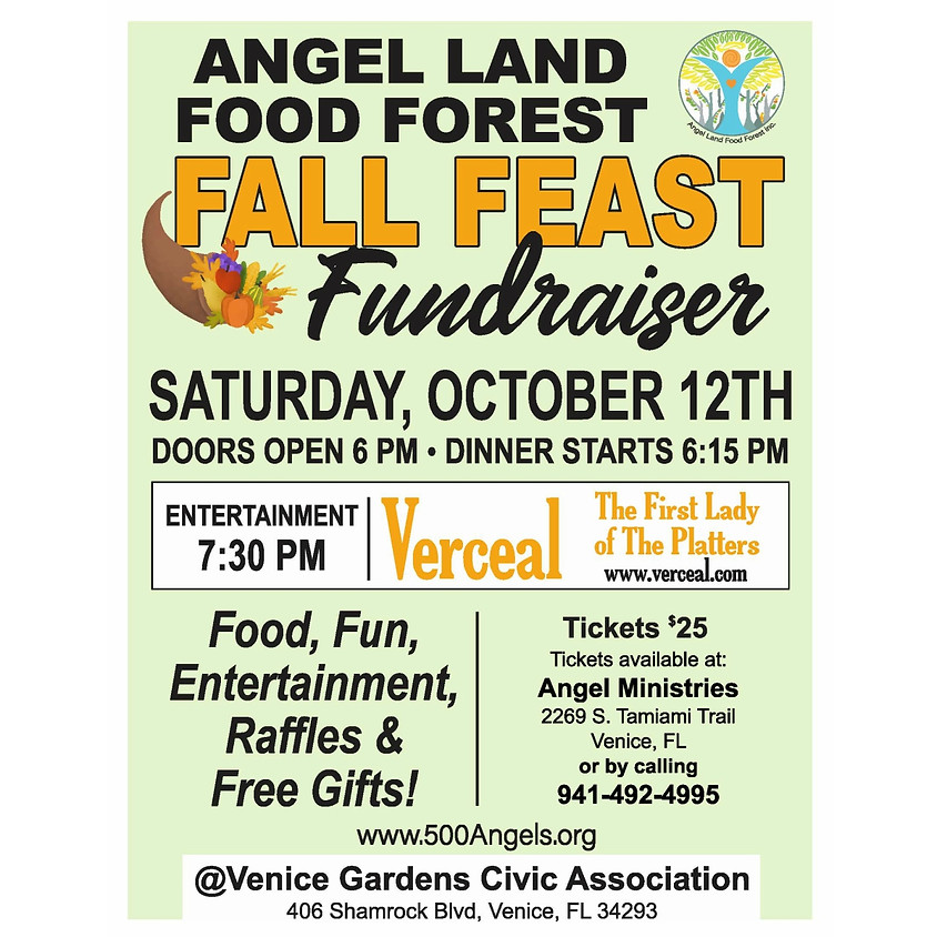 Fall Feast Fundraiser for Angle Land Food Forest