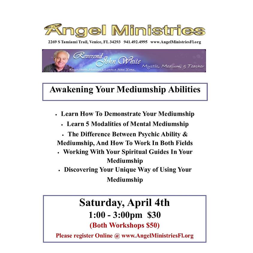 POSTPHONED - Awakening Your Mediumship Abilities