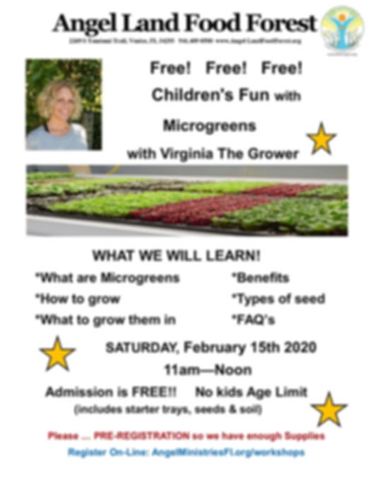 Children's Microgreen Virginia Feb Works