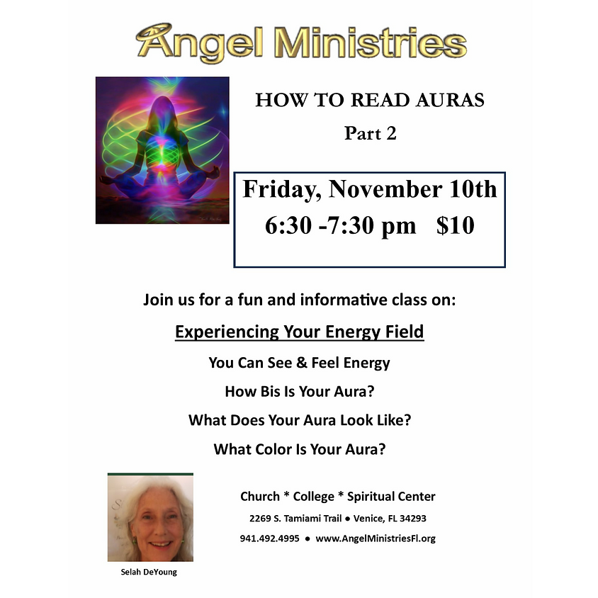 How to Read Auras Part 2