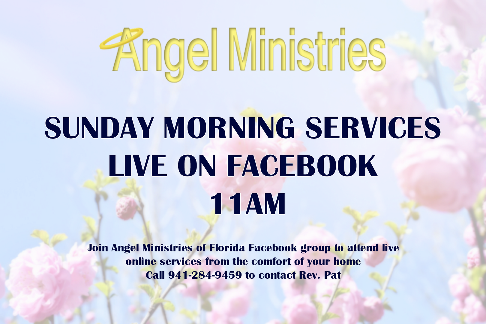 Angel Ministries Services Live Online