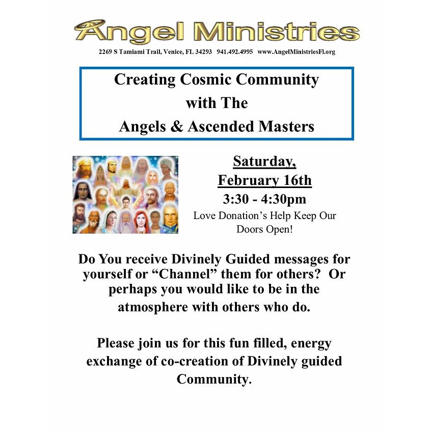 Cosmic Community with Angels & Ascended Masters
