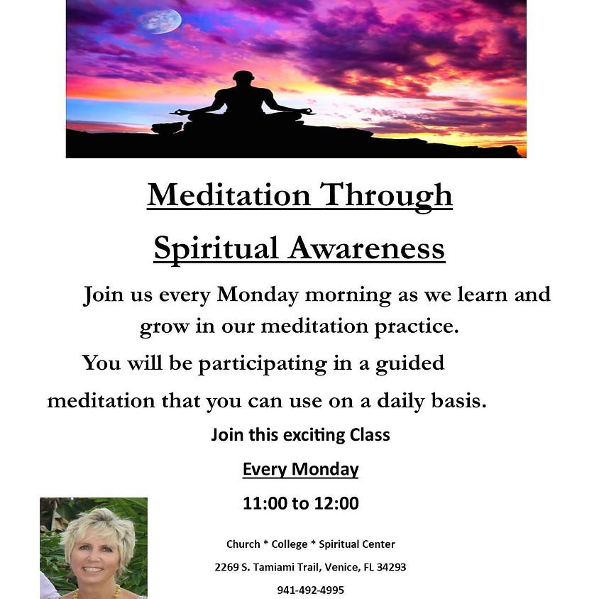 Meditation Through Spiritual Awareness
