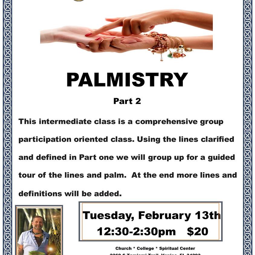Palmistry Part 2