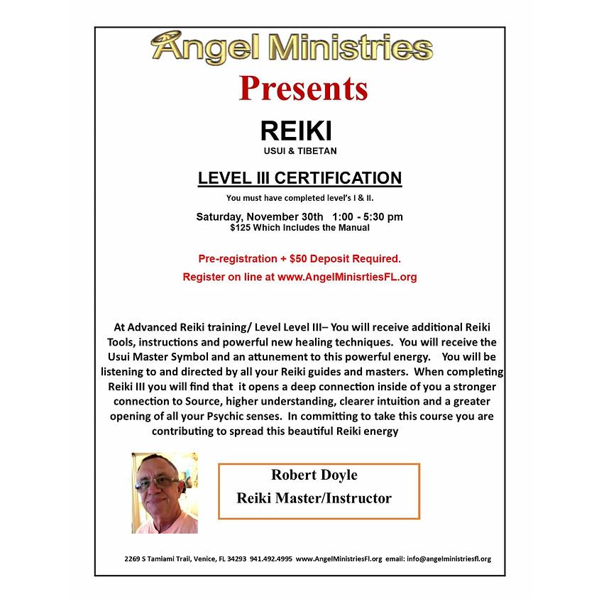Reiki Level III