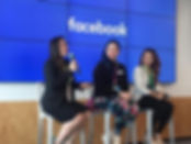Speaking at Facebook Office