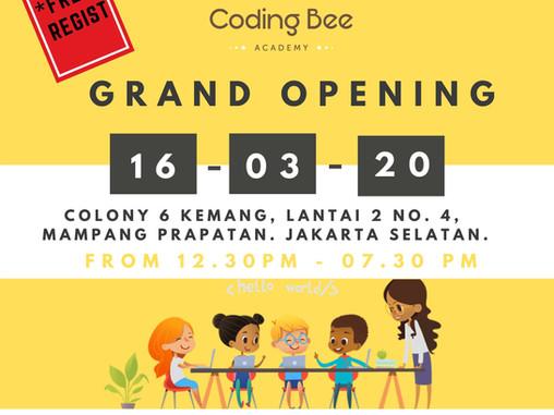 GRAND OPENING! CODING BEE KEMANG
