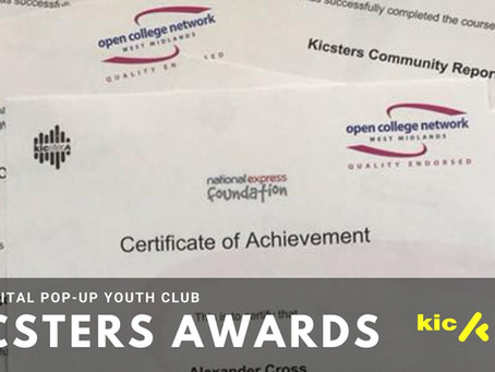 Kicsters Online Awards Programme