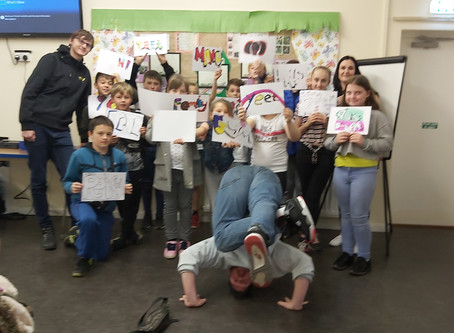 Kicsters work with National Youth Agency (NYA) exploring cultural identity.