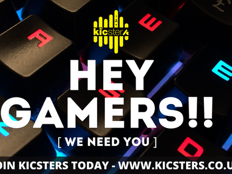 Calling All Gamers - We Need You!