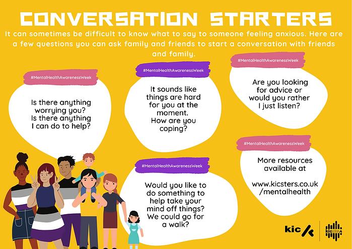 Kicsters Conversation Starters - MentalH