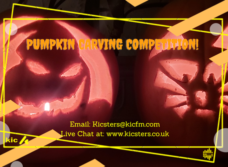COMPETITION! PUMPKIN CARVING