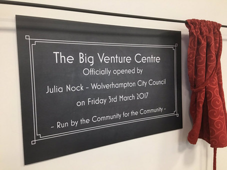 Big Venture Community Centre Grand Opening