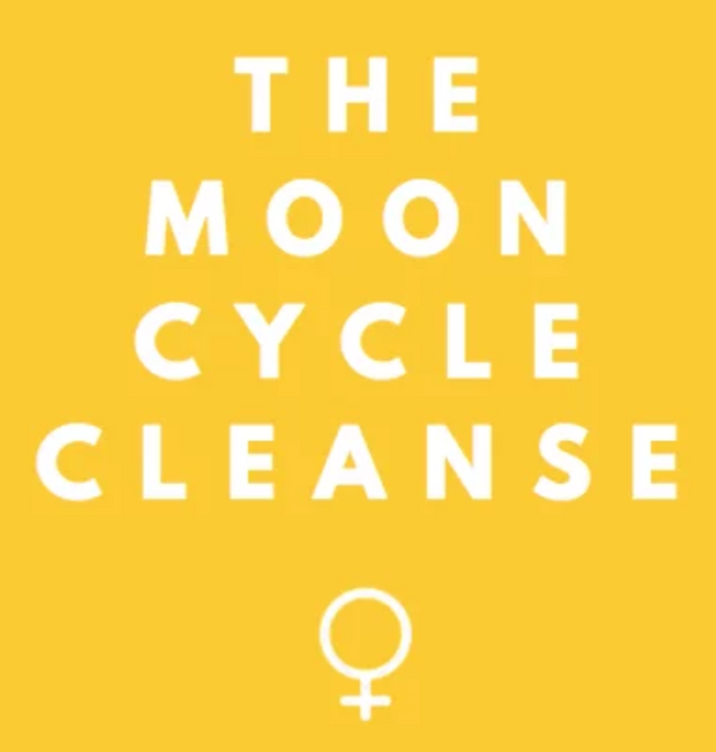 The Moon Cycle Cleanse booklet