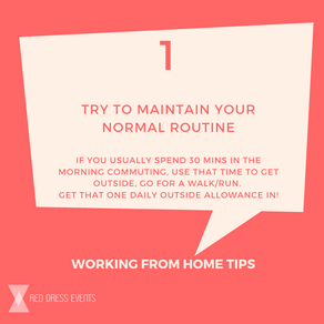 Working From Home: Top Tips