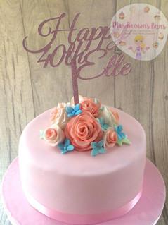40th Birthday Cake